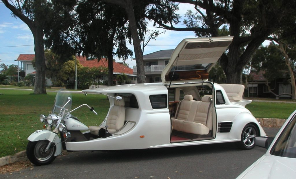 Stretch Harley Davidson Motorcycle Limo